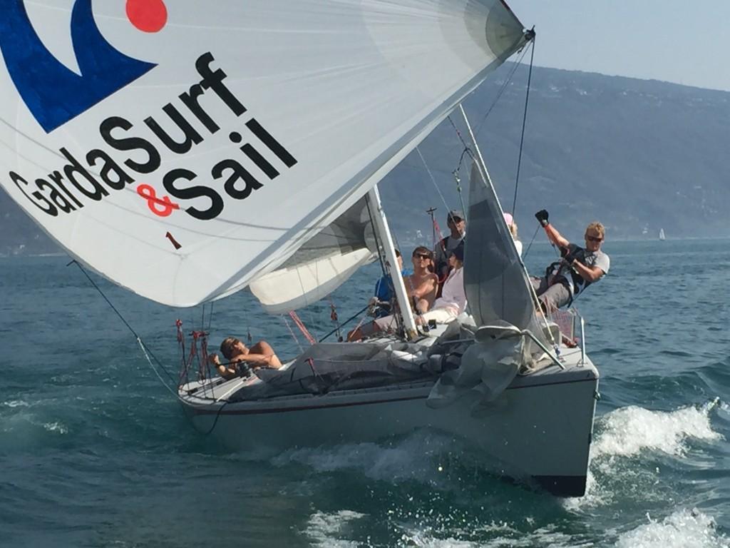 Skippertouren am Gardasee