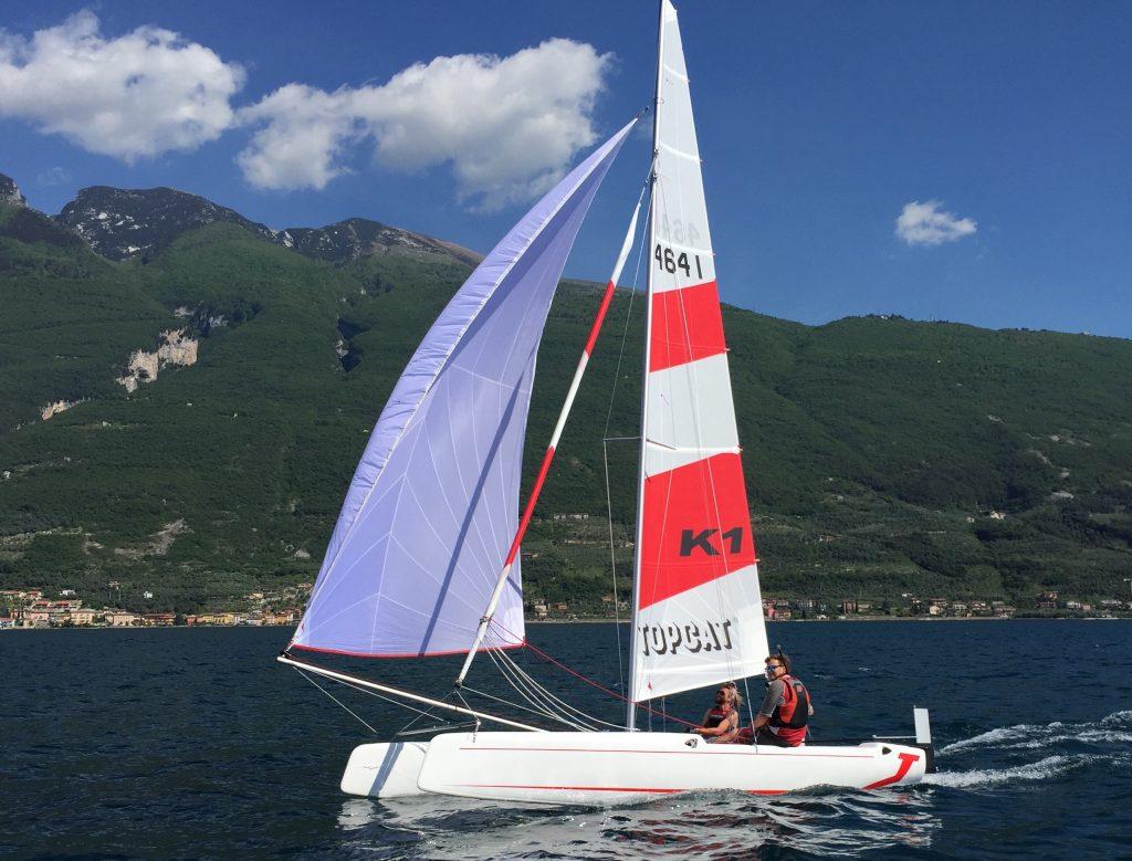 Der neue K1 ist bei Gardasurf&Sail !