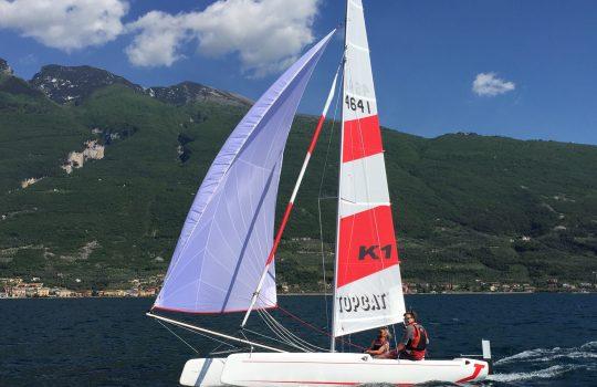 TOPCAT segeln bei Gardasurf&Sail !